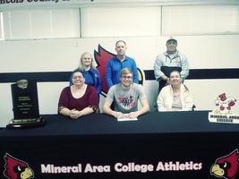 Matthew Townsend Signs with Mineral Area College