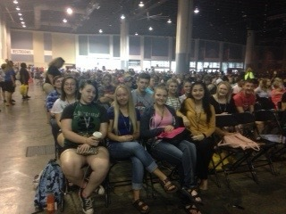 Students attending National BETA Convention.