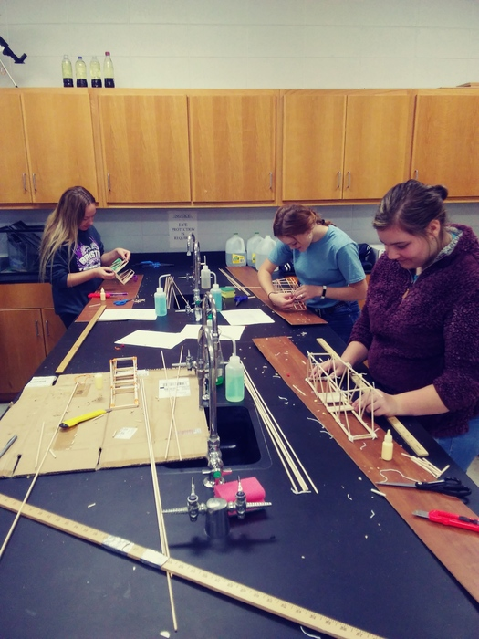 Alton Physics Bridge Building Team