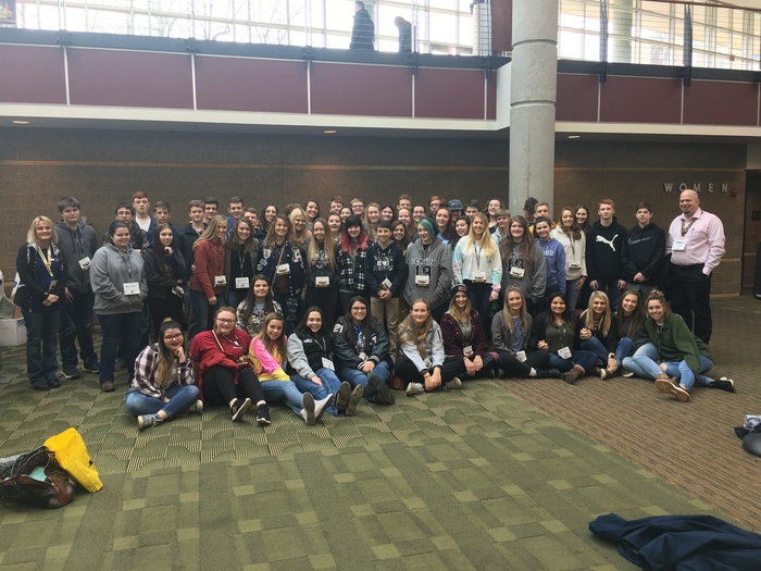 Beta members at 2019 state Beta convention
