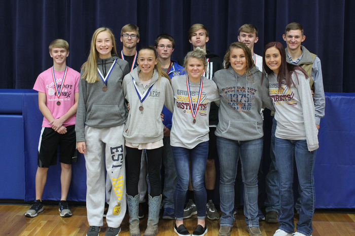All-District Runners